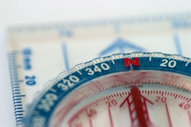 Compass Macro royalty free stock photography