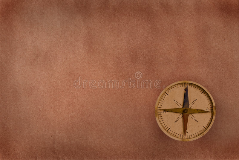 Download Compass on old paper stock photo. Image of latitude, direction - 8213178
