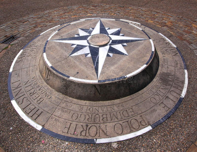 Download Compass rose stock photo. Image of norte, burgos, edimburgo - 25610474