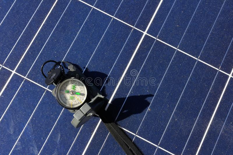Solar Pv Panel Clamp Stock Photo Image Of Electric Power