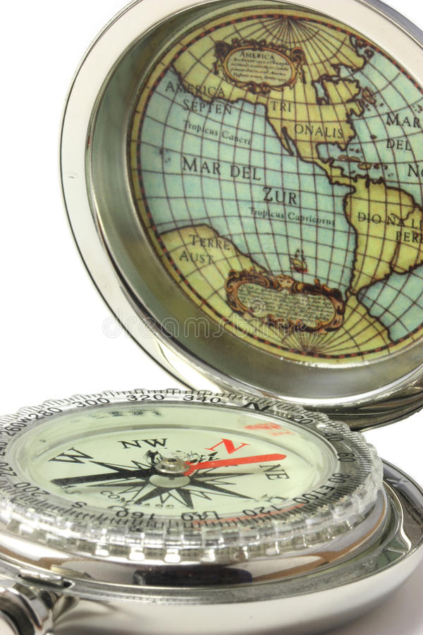 Download A Compass To Explore The World Stock Photo - Image: 12663124