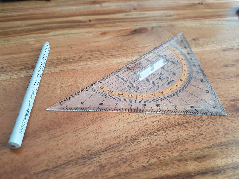 Compass With Triangular Protractor Free Public Domain Cc0 Image
