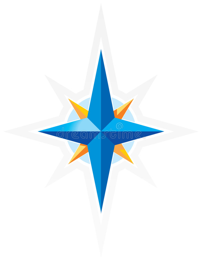 Free Compass Wind-rose Royalty Free Stock Image - 7537546