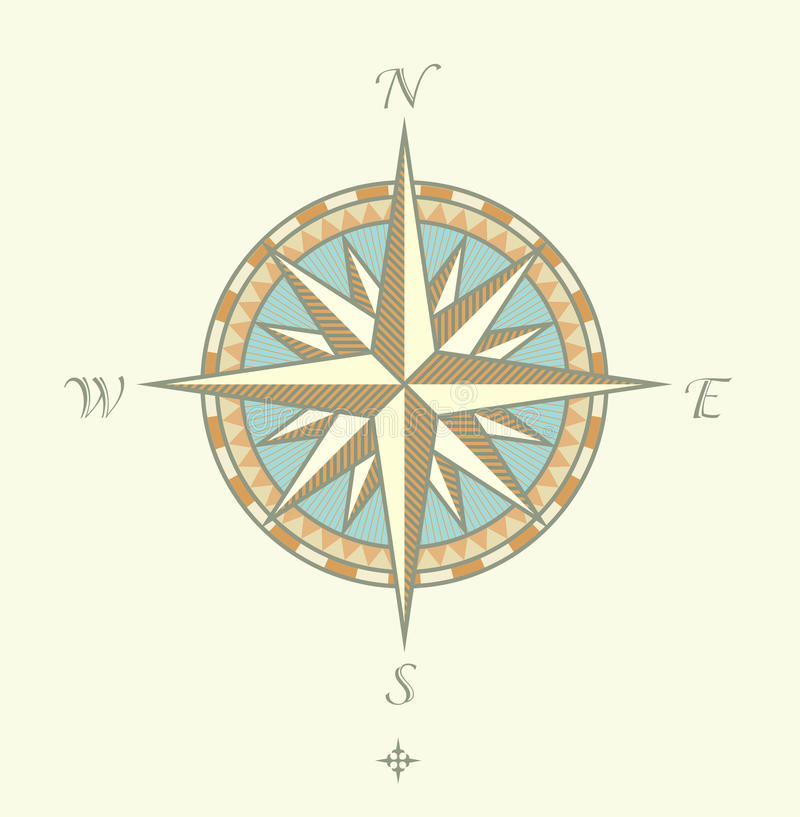 Free Compass Windrows Stock Photos - 9662333