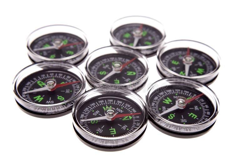 Compasses royalty free stock photo