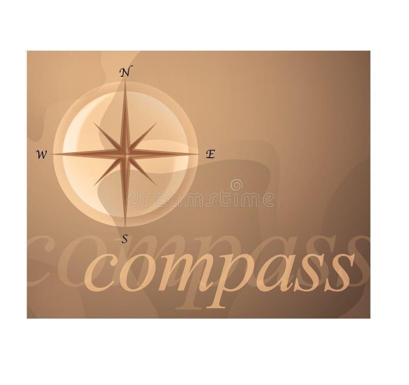 Compasso ilustração stock