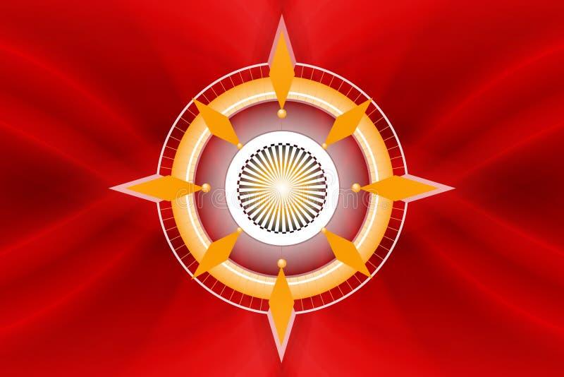 Download Compasso ilustração stock. Ilustração de símbolo, orientação - 539531