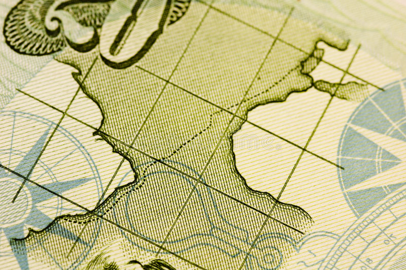 Compasso & mapa fotos de stock royalty free