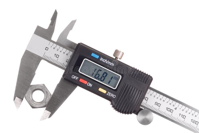 Compasso de calibre foto de stock