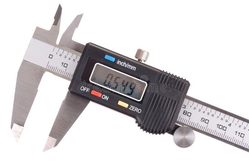 Compasso de calibre fotografia de stock