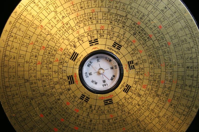 Compasso de Feng Shui imagem de stock royalty free