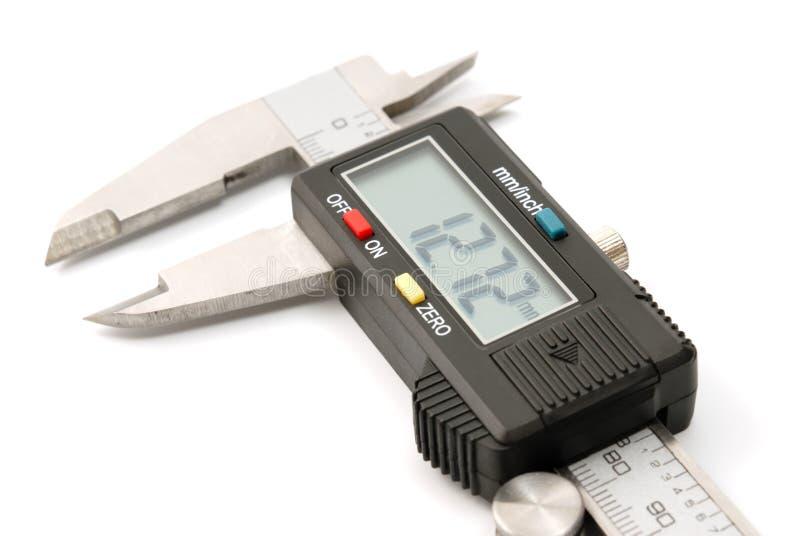 Compasso digitale elettronico immagini stock
