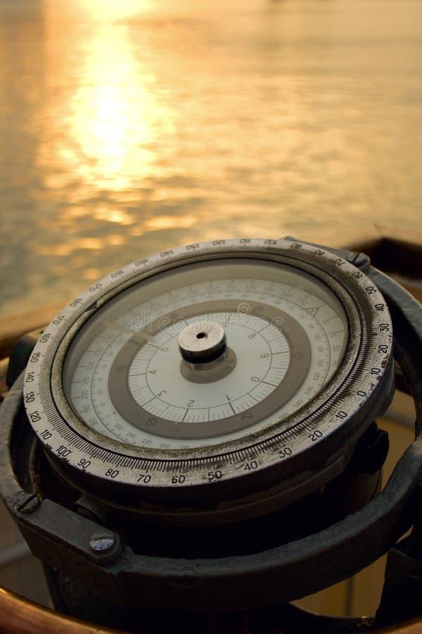 Compasso do navio foto de stock royalty free