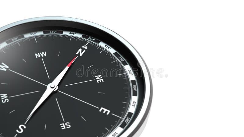 Compasso isolado no fundo branco imagem de stock royalty free