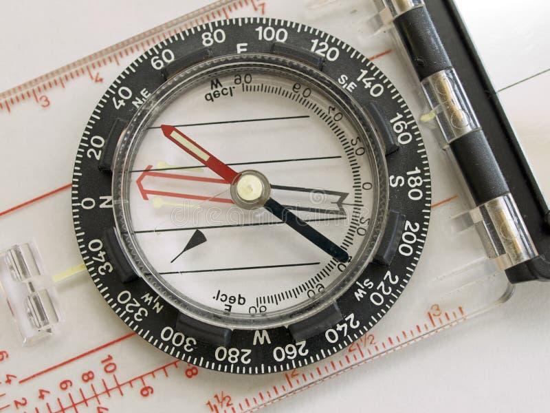 Compasso magnético fotos de stock