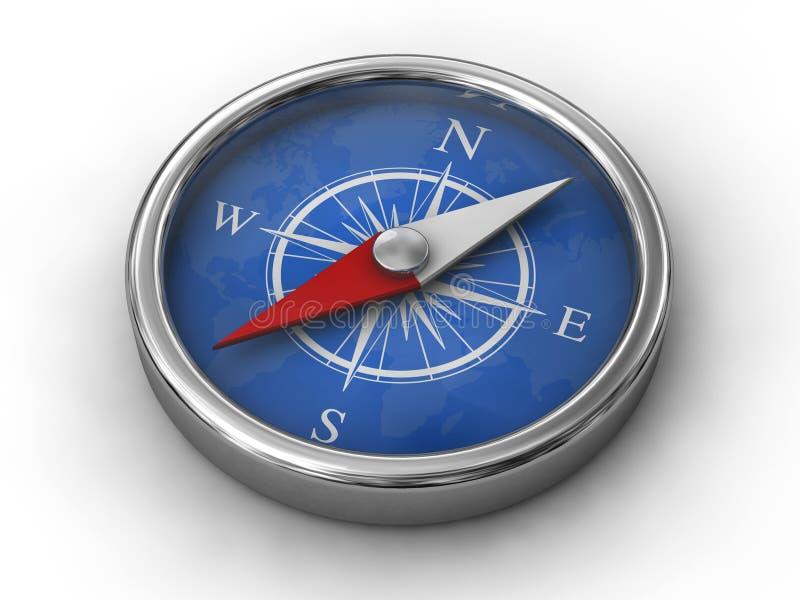 Compasso moderno ilustração stock
