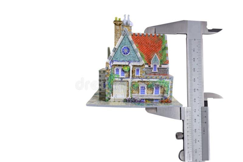 Compassos de calibre da casa imagem de stock royalty free
