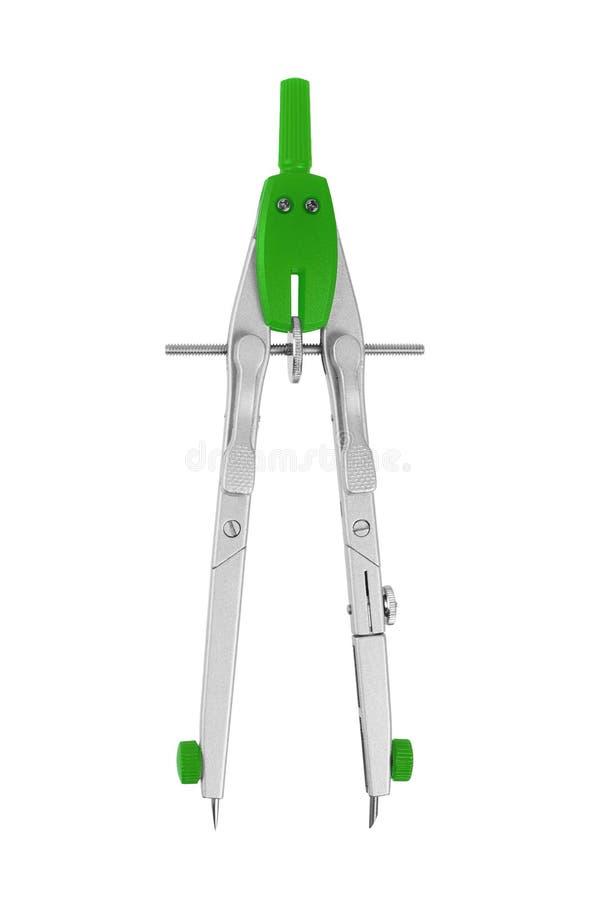 Compassos verdes foto de stock
