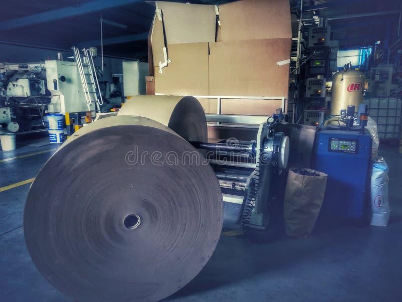Compensación de la impresión de la máquina imagenes de archivo