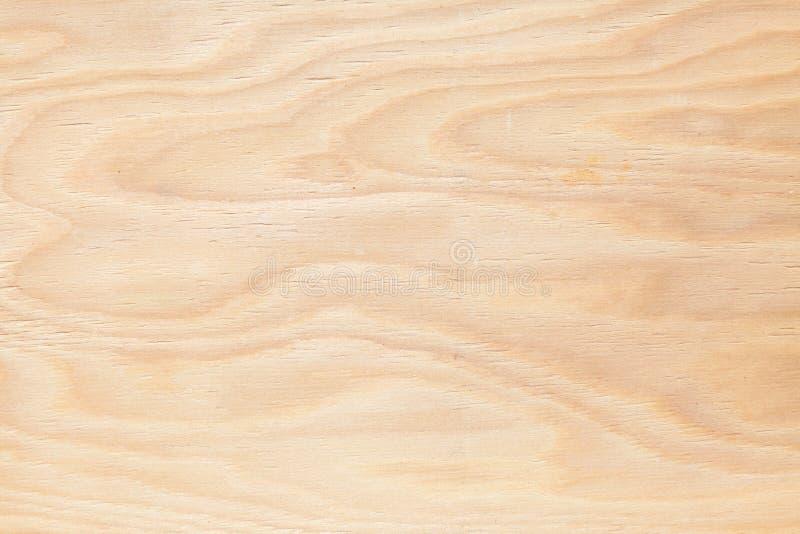 Compensato del fondo la luce di legno fotografia stock libera da diritti