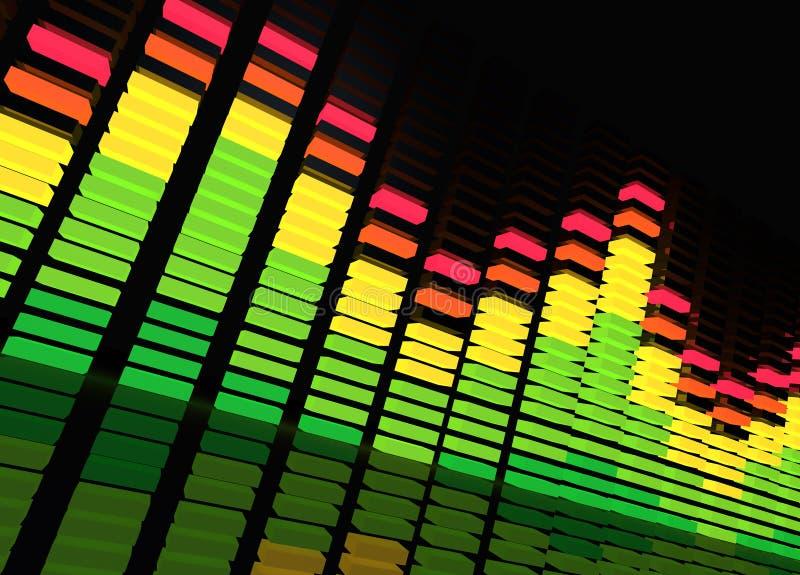 Compensatore di musica illustrazione di stock