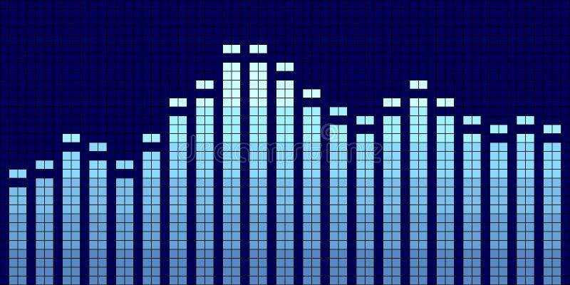 Compensatore grafico illustrazione vettoriale