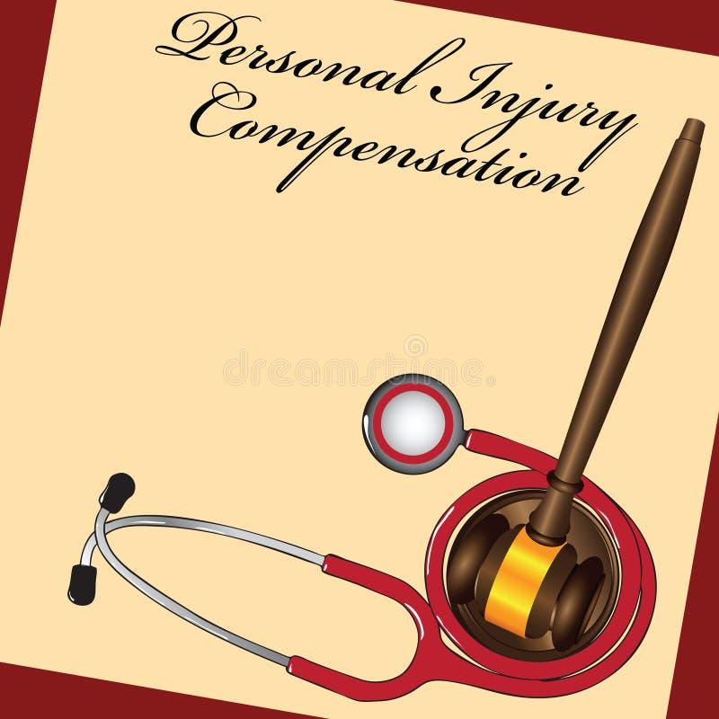 Compensazione di lesione royalty illustrazione gratis