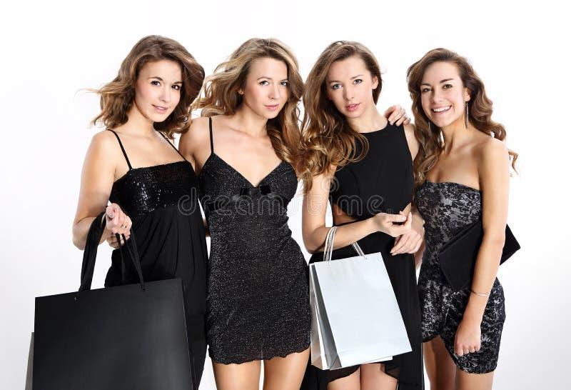 Compera delle donne fotografia stock libera da diritti