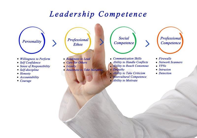 Competência da liderança imagens de stock royalty free