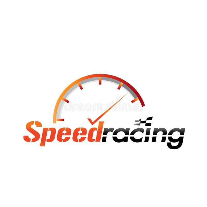 Competência da velocidade ilustração royalty free