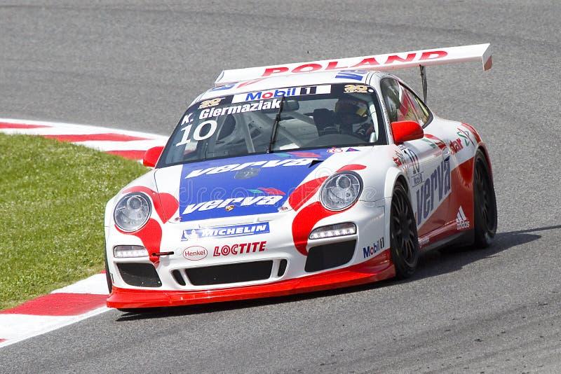 Competência de Porsche imagem de stock