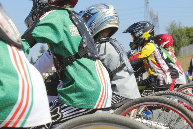 Download Competência do motocross foto de stock editorial. Imagem de crianças - 26518468