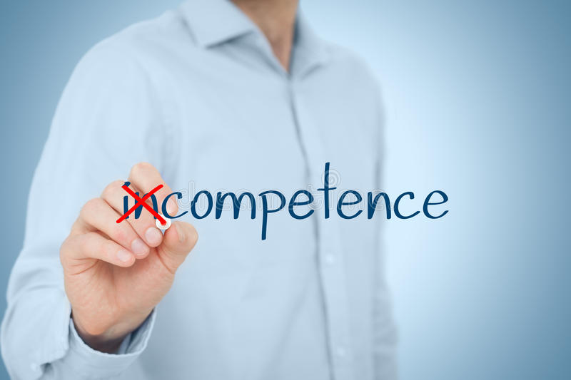Competence stock photo