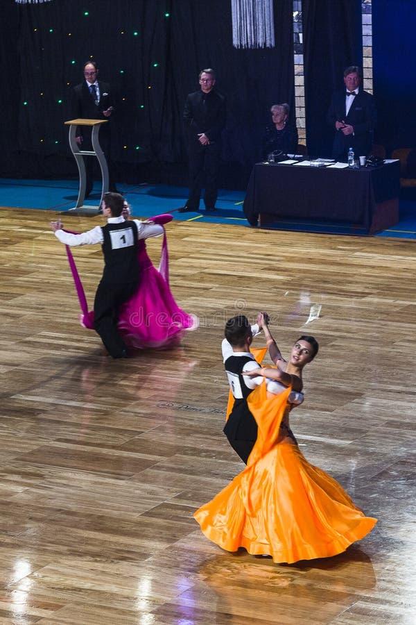 Competição da dança imagem de stock