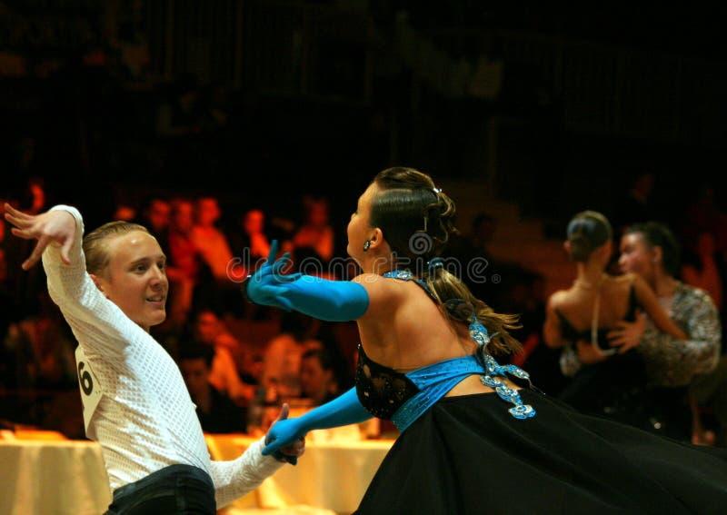 Competição da dança fotos de stock royalty free