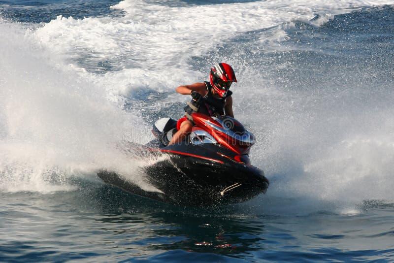 Competição de esporte de motor da água fotos de stock royalty free