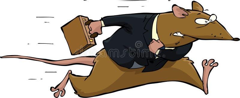 Competição desenfreada ilustração stock