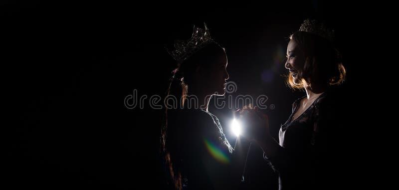 Competição Diamond Crown da senhorita Pageant Beauty Queen foto de stock royalty free