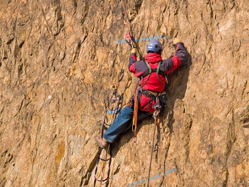 Competição do alpinismo imagem de stock royalty free
