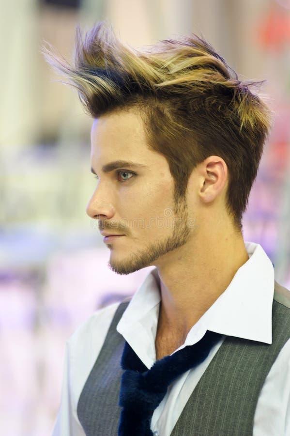Competição do Hairdressing foto de stock