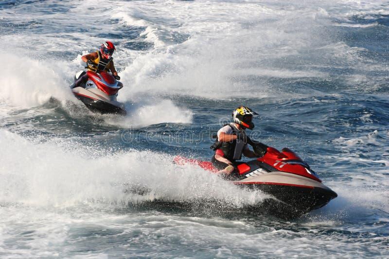 Competición de deporte de motor del agua imágenes de archivo libres de regalías