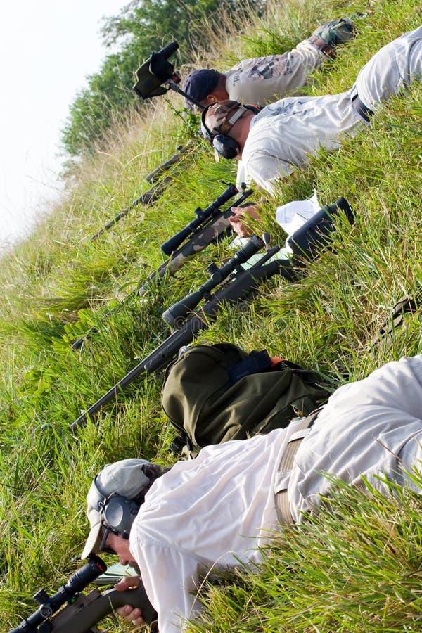 competición de la caridad 3-Gun fotografía de archivo