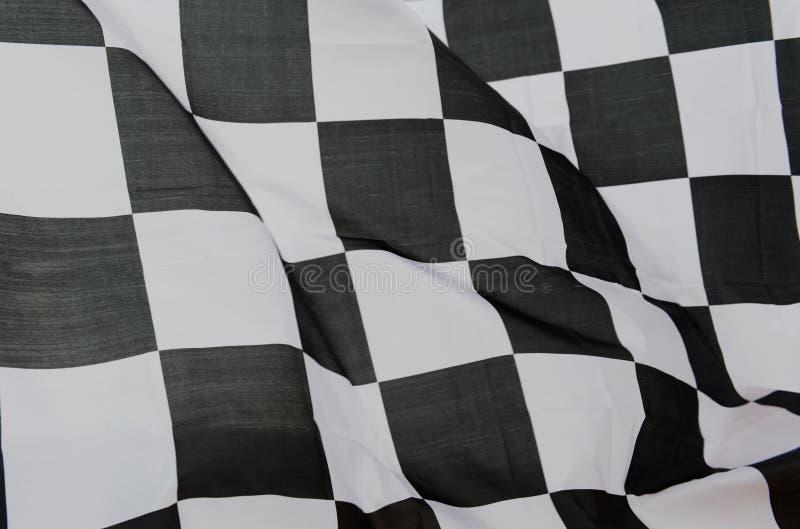 Competindo a bandeira imagem de stock