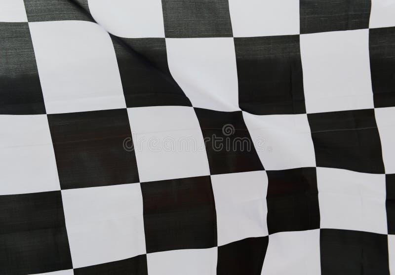 Competindo a bandeira foto de stock