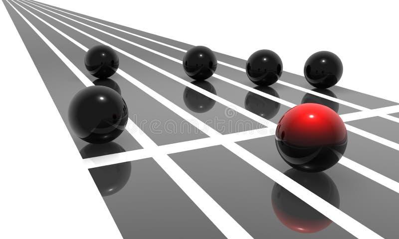 Download Competition stock illustration. Image of black, goal, color - 6649267