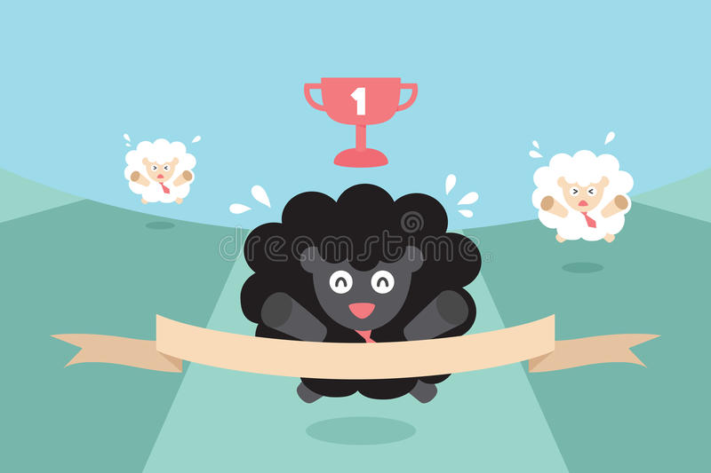 Competition vector illustration