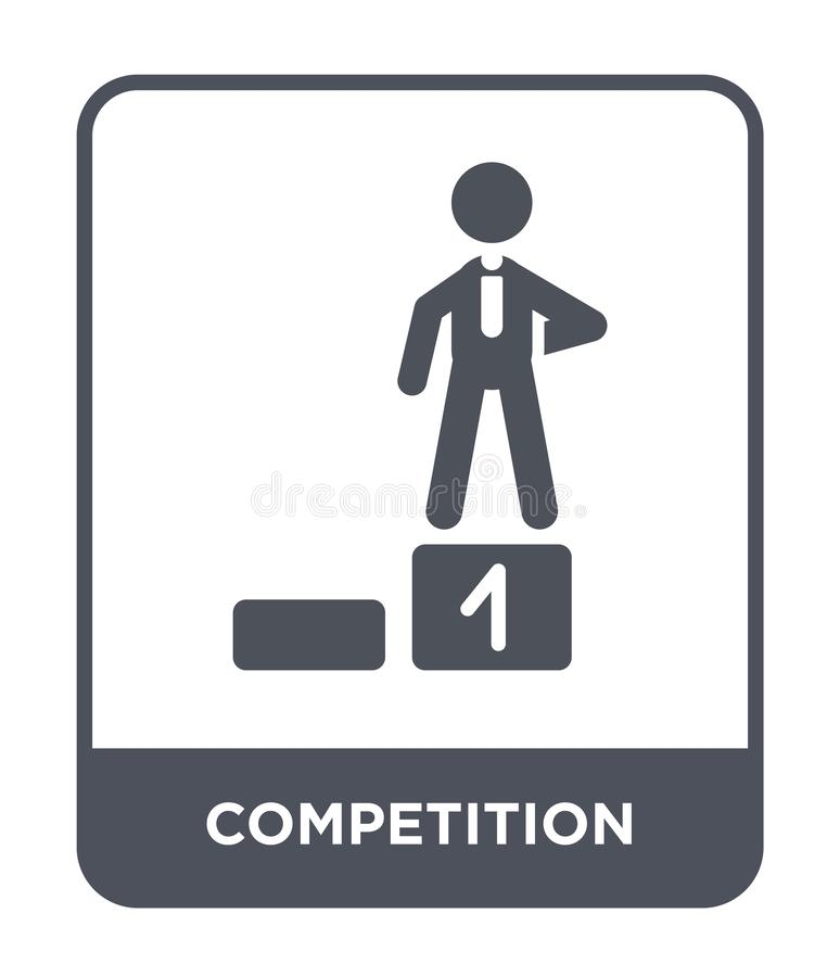 competition icon in trendy design style. competition icon isolated on white background. competition vector icon simple and modern royalty free illustration
