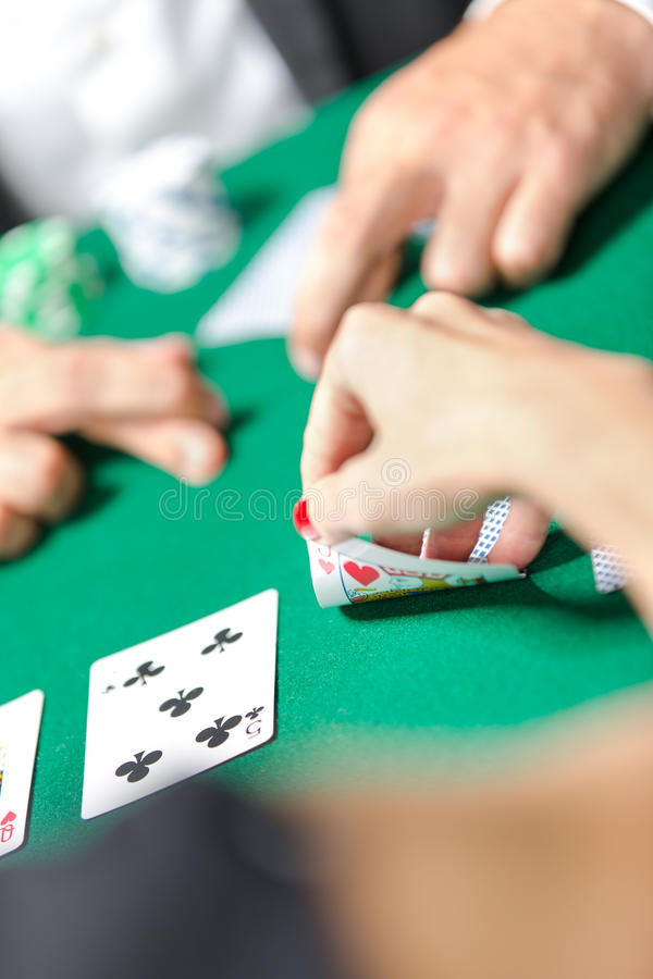 Download Competition Between Poker Players Stock Image - Image: 28730629