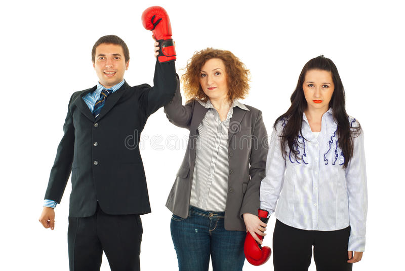 Download The competition winner stock photo. Image of fight, happiness - 20311398