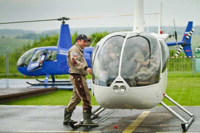 Download Competitions On Helicopter Sports In Russia. Editorial Photography - Image: 20059007